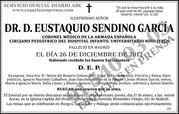 Eustaquio Sendino García